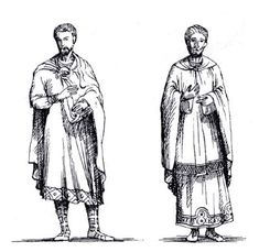 The Paenula was a heavy wool cloak shaped in a semi-circle that clossed at the front with a hood King Lear, Medieval Fashion, Byzantine, Film, Costume Design, Making Out, Roman, Costumes, Statue