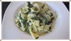 Penne mit Spinat-Gorgonzola-Sauce by Nadweb11 on www.rezeptwelt.de