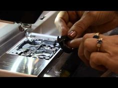 Keeping your bobbin area clean, Janome video