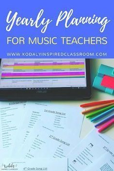 Kodaly Inspired Classroom: Perfect Poolside Planning {Blog Hop}