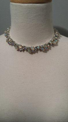 Vintage Lisner Moonstone Necklace by InstantVintage78 on Etsy, $40.00