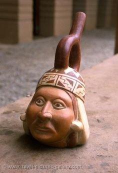 "Inca pottery. Great example of the use of a ""donut""."