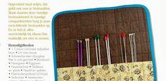 Handmade NL: Gratis patroon breinaalden etui