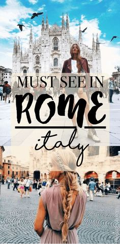 Must See Attractions in Rome Italy