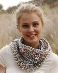 crochet pattern - summer storm neck warmer