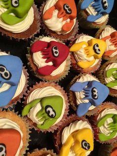 Splatoon cakes for StreetPass Basingstokes event!