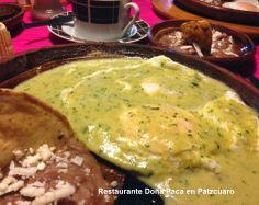 Un lugar donde desayunar en Pátzcuaro con sazón y con sabor es Restaurante Doña Paca