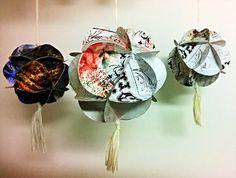 MAMMI MIA!: Paperipallo DIY-ohje. Yhdelle sivulle printattava (20 pyöreää palaa), jotka tarvitaan paperipallon kokoamiseen. One page printable (20 circular pieces) that are needed to assemble the paper ball.