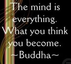 Runner Things #867: The mind is everything. What you think you become.