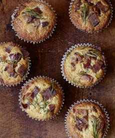 Bacon Cheddar Muffins: Savory, salty, and totally customizable