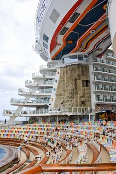 Royal Caribean Allure of the Seas Cruise: Things To Do @cruisesmile One of our most favorite ships!