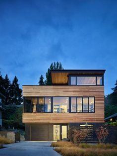 Exterior Contemporary Homes