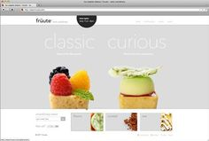 甜品-網頁設計