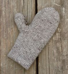 Pattern: double-thick, extra-warm mittens