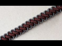 How To Make A Tyrannosaurus Rex Paracord Survival Bracelet Without Buckle - YouTube