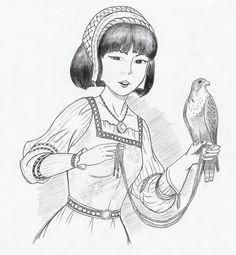 Yoko Tsuno by A-Yellow-Babycake.deviantart.com on @DeviantArt