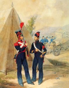 Пешая артиллерия