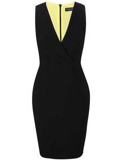 f541c4f7ce48 Dorothy Perkins - Černé šaty se zipem na zádech - 1