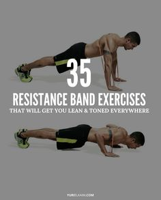 Resistance bands are not only a fantastic way to make bodyweight exercises harder, but a lightweight, ultra-portable piece of equipment such as this one offers way more exercises to keep you from plateauing. Here's my list of the top 35 resistance loop band exercises you should do.