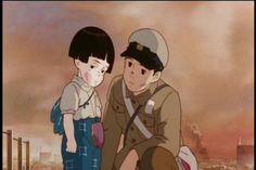 Grave of The Fireflies Hayao Miyazaki, Hotaru No Haka, Grave Of The Fireflies, Studio Ghibli Art, Aesthetic Japan, Last Unicorn, Ghibli Movies, My Neighbor Totoro, Neon Genesis Evangelion
