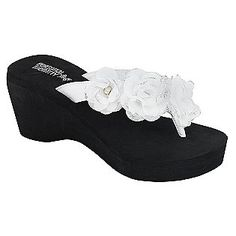 These will match my wedding dress Perfectly!!  and on sale for $13.49 at Sears :)