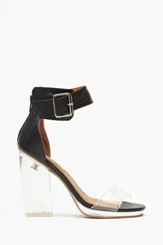 Jeffrey Campbell Soiree Heel - Black Size 7.5 will do just fine, thanks!