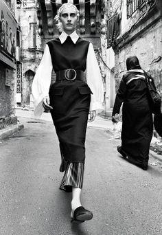 Julia Nobis by Craig McDean for W Magazine November 2015