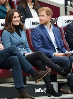 Kate looked delighted to be getting out and about again after a six week break from offici...