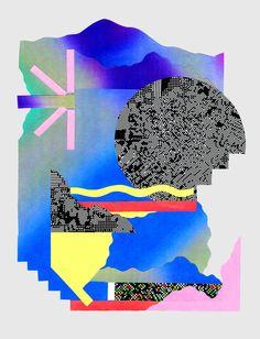 Creative Design, Chris, Burnett, and Picdit image ideas & inspiration on Designspiration Graphic Design Posters, Graphic Design Inspiration, Creative Inspiration, Graphic Art, Creative Art, Creative Design, Vaporwave, Grafik Design, Textures Patterns