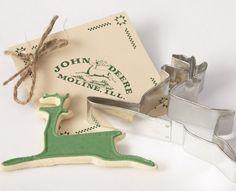 John Deere Custom Cookie Cutter. www.promocookiecutters.com