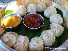 """Nepali dumplings are called """"Momo"""". Very cool!"""