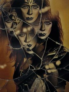 Vinnie Vincent, Halloween Face Makeup, Game Of Thrones Characters, Kiss, Fictional Characters, Art, Art Background, Kunst, Performing Arts