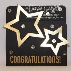 Congratulations gift card holder - video tutorial