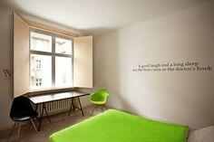 Quotel, una frase para cada habitación.