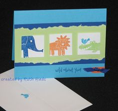 kid card front by RuthStamps, via Flickr