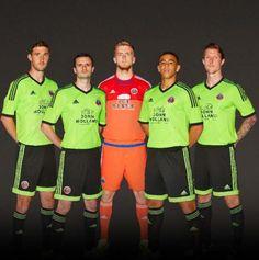 Sheffield United Away Kit 2015 16