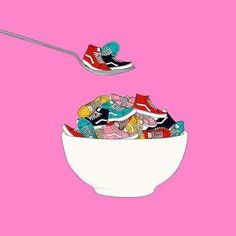 Best way to start your day. Get that recommended serving with new prints and classic colors of the Vans Art: Lunares Sneaker Art Painting Print illustration drawing artwork Sneakers Wallpaper, Shoes Wallpaper, Nike Wallpaper, Iphone Wallpaper Vans, Dope Wallpapers, Hypebeast Wallpaper, Vans Girls, Surf Girls, Sneaker Art