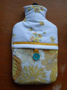 DIY hot water bottle cover