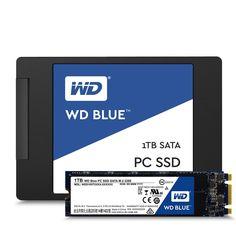Western Digital เปิดตัว SSD Drive สองรุ่น WD Blue และ WD Green