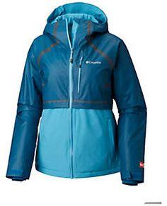 Columbia Womens Techy Hybrid Fleece Jacket size Large Astral//White Stripe
