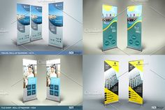 44 Roll-Up Banners Bundle by NEXDesign on @creativemarket