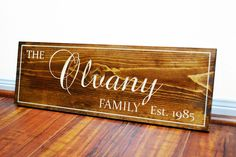 Rustic Five Year Anniversary gift for Girlfriend-Boyfriend-Husband- Wedding Sign- Fifth Wood Anniversary Gift for Men - Women. Thank you for checking out our beautiful handmade Home Decor! We sell handmade, high quality, and wonderful custom carved or painted designs-family name signs,Established signs, Last Name signs, Established plaque carved signs, Wedding Gifts, Wedding Accessory, Wedding Welcome signs, Gifts for Parent ... Pretty much everything, you can contact us for your own…