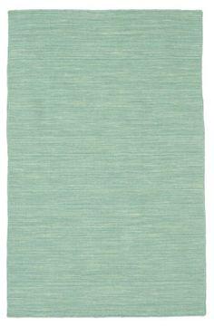 Kelim loom - Mint grün Teppich 100x160