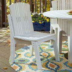 Outdoor Uwharrie Carolina Preserves Armless Patio Dining Chair