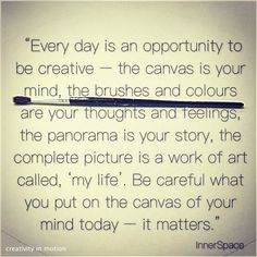 creativity everyday | creativity in motion
