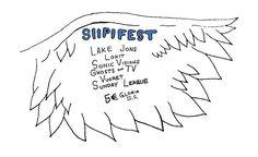 Siipifest: Sunday League, Vuoret, Ghosts On TV, Sonic Visions, Lokit, Lake Jons - GLORIA, Helsinki - 12.5.2017 - Tiketti