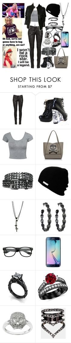 """On Wwe Swerved! Getting Pranked By Dolph Ziggler"" by xxxburningcoldxxx ❤ liked on Polyvore featuring moda, Balmain, Estradeur, Botkier, Neff, Wildfox, Amrita Singh, Retrò, Samsung e Eternally Haute"