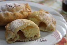 Panzerotti dolci I manicaretti di nonna Lella http://blog.giallozafferano.it/graziagiannuzzi/panzerotti-dolci/