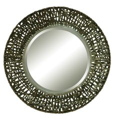 Uttermost Alita Round Beveled Mirror & Reviews | Wayfair