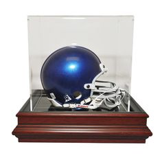Carolina Panthers NFL Boardroom Mini Helmet Display Case